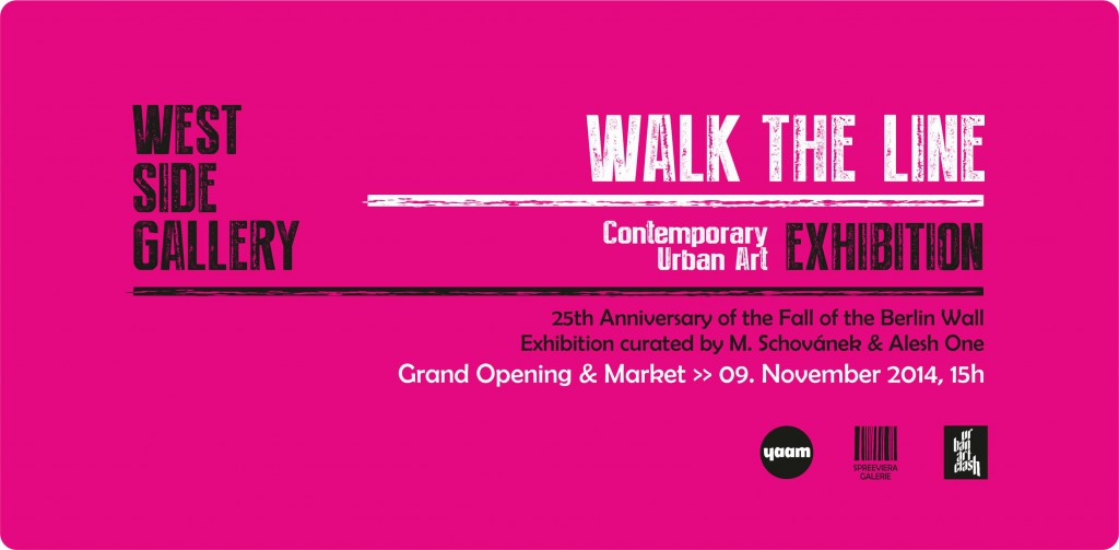West Side Galerie_Grand Opening_Exhibition WALK THE LINE_09112014