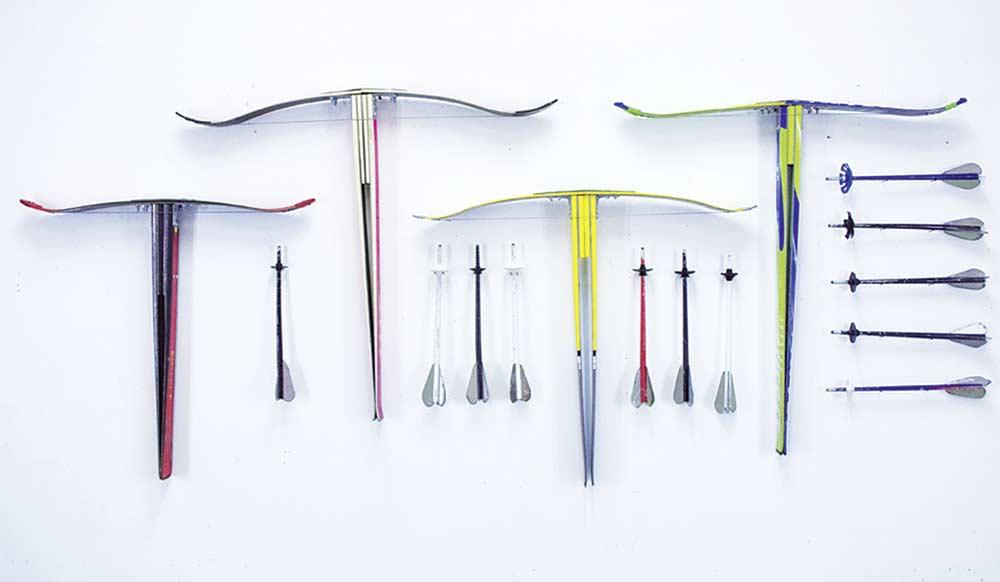 Crossbows & arrows